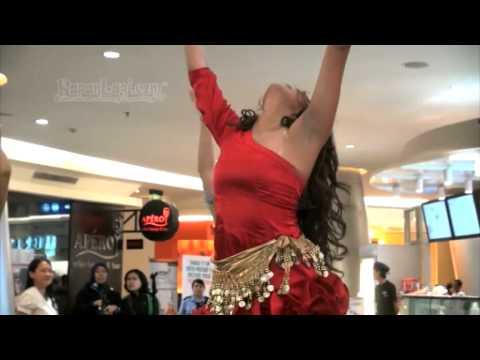 Yuk, Intip Goyang Belly Dance Pinkan Mambo