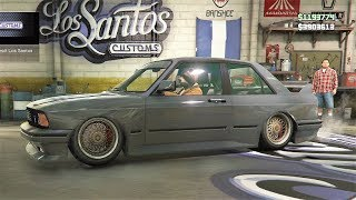 GTA 5 NEW CAR SENTINEL CLASSIC - BMW E30 M3