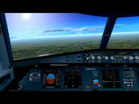 X Plane 10-A320neo-All checklist completed-London to Paris-Cold&Dark-Full