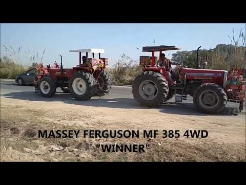 POWER OF MASSEY FERGUSON MF 385 4WD - MASSEY COMPETITION WITH OTHER KNOWN BRANDED TRACTORS