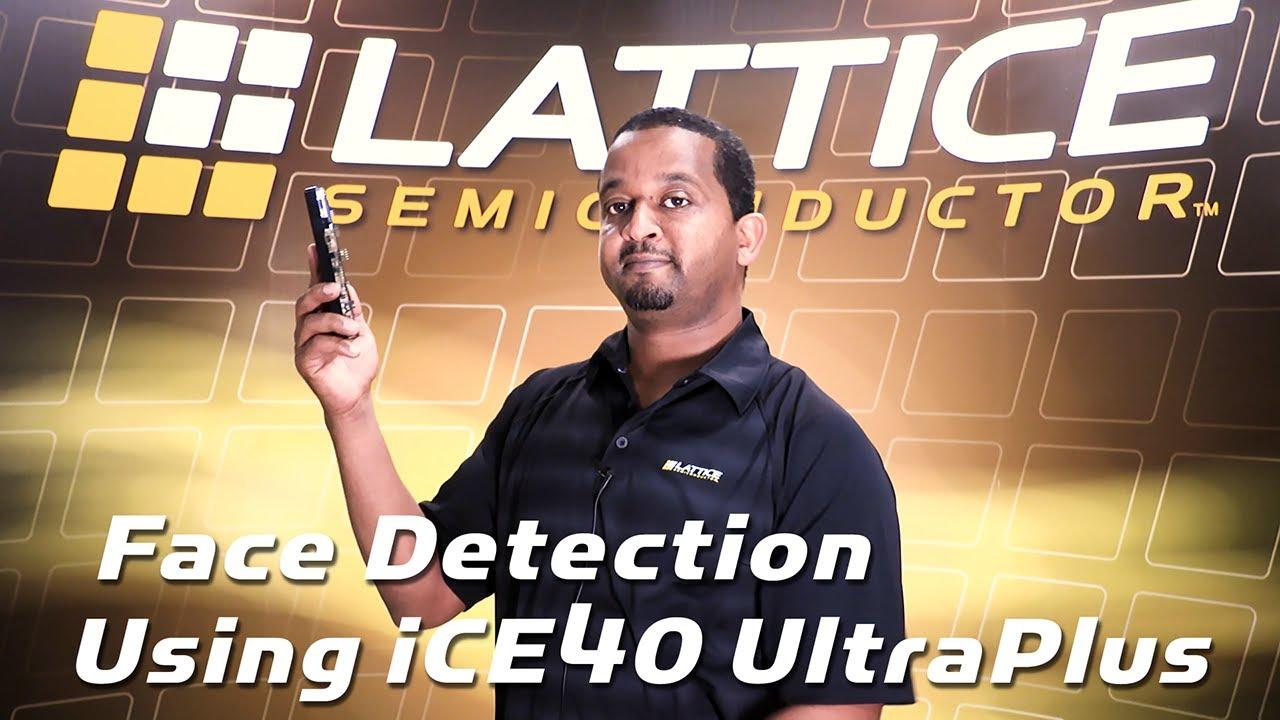 Human Face Detection Demo Using Lattice iCE40 UltraPlus