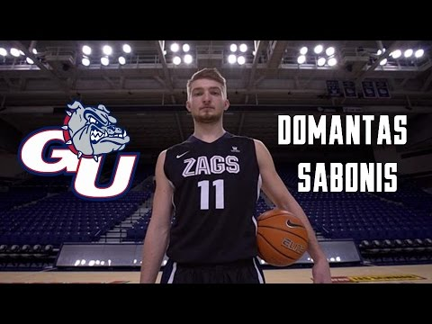Domantas Sabonis 2016 Gonzaga Highlights- HD