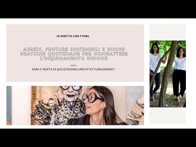 Sara e Marta di Sustainable Architechtural Market | Design Magazine Fillyourhomewithlove