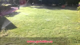 видео Дождеватели RAESA и RAIN BIRD