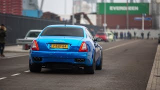 LOUDEST Straight Piped Maserati Quattroporte in the World ?