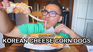 How to cook KOREAN CHEESE CORN DOGS