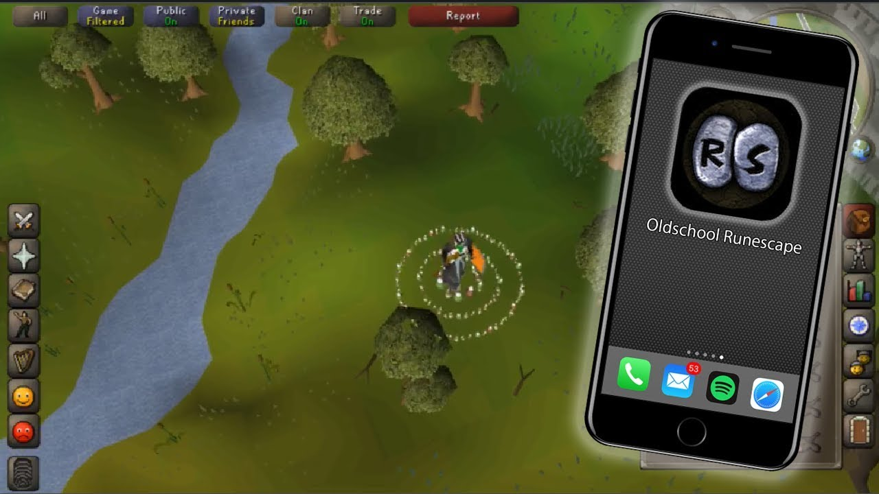 OSRS on IPhone! (first look)
