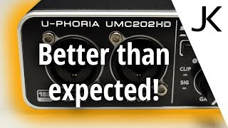 Behringer UMC202HD review (with noise measurement)