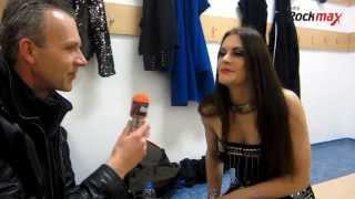 Floor Jansen  / ReVamp Interview at Winter Masters of Rock 2013