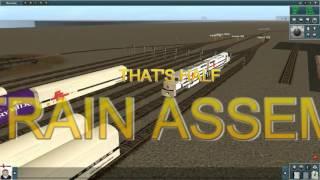 trainz simulator 2010 engineers edition - sct freight train