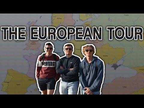 3 BRITISH LADS TAKE ON EUROPE - DYLAN GINNO!!!