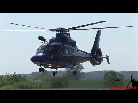 [HD] NHC 02, Ec155 Offshore Rescue Helicopter D-HNHB Full Startup & departure