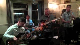 Grooving, Solar Funk @ Coach and Horses, Dronfield 170514