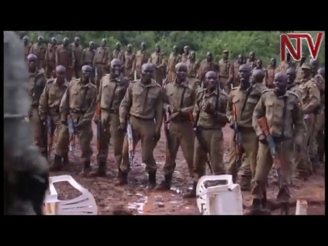 309 police officers begin counter-terrorism training in Nakasongola