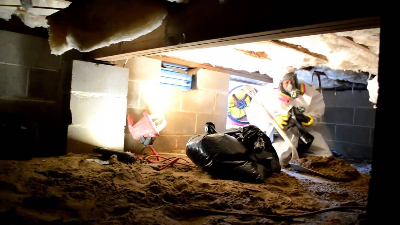Mastertech Raw Sewage Cleanup In A NJ Crawl Space