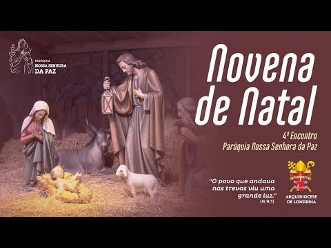 NOVENA DE NATAL ON-LINE - QUARTO DIA