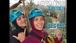 ГАВАЙИ | ZIP line | КАК мы попали в страшный ливень