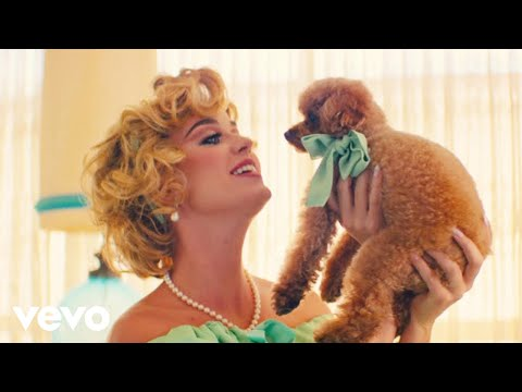 "Katy Perry's Dog-Filled Music Video For ""Small Talk"" Is Best in Show"