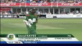 2010: Bangladesh vs England 2nd ODI at Bristol (Short Highlights)