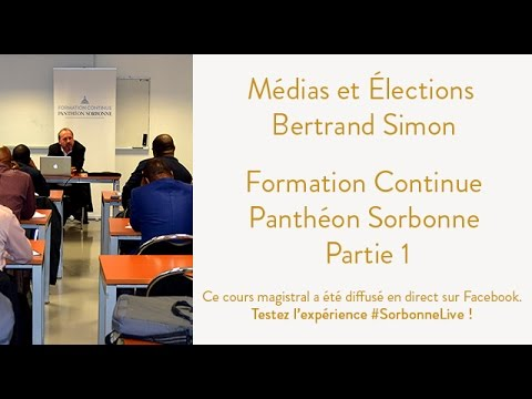 [REPLAY] Médias et Élections - Formation Continue - Partie 1