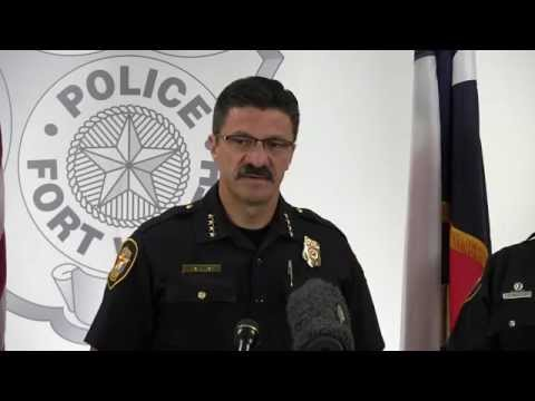 Inside the FWPD: Press Conference - triple homicide at 508 W. Felix St.
