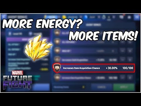 Save Energy & Get MORE Items? Dimension Rift Farming - Marvel Future Fight
