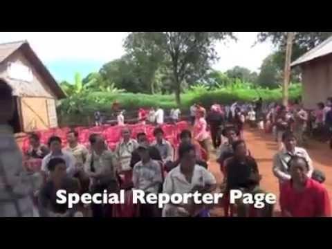14-10-2014 plantations of Jaray native at Ratanakiri province are facing to lose by Vietnam company.