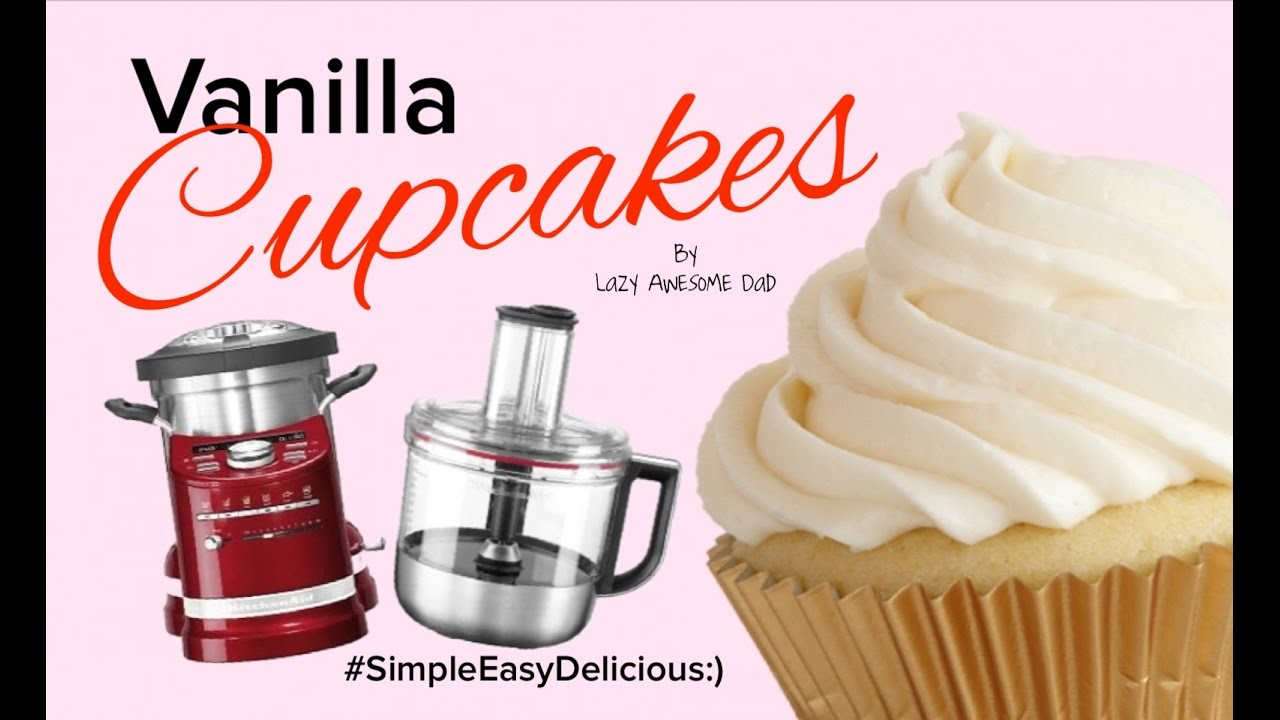 Kitchenaid pink food processor - Kitchenaid Cook Processor Artisan How To Simple Easy Fool Proof Cupcakes Recipe Food Processor Kit