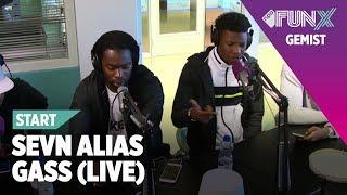 Sevn Alias - Gass ft. Jason Futuristic, BKO & Jairzinho (LIVE bij FunX Start)