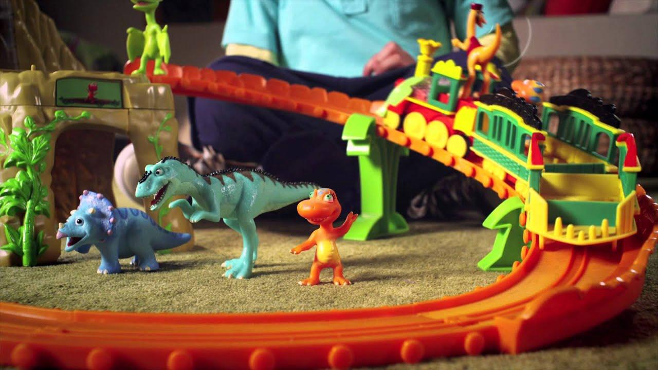 Time Tunnel Mountain Set -- Dinosaur Train - YouTube