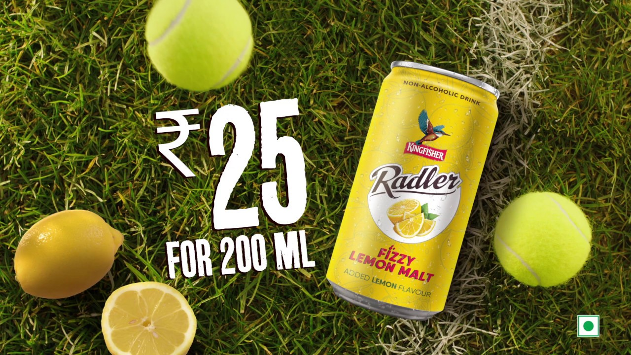 Presenting the new Kingfisher Radler | Refreshing Drink With A Lemony Twist | Non-Alcoholic Beverage