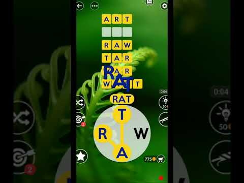 Wordscapes Uncrossed Level 125 New Update Masaya Ang Mga Salita Youtube