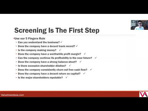 How To Screen For Stocks? Class 12