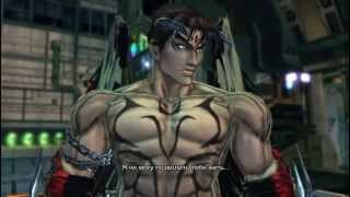 SFxT Mods Cross Arts Devil Jin & Unknown vs Evil Ryu & Alpha-152 (Slow Motion)