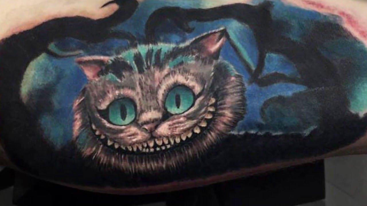 Tbdts Vol2 Chashire Mačka Chashire Cat Tattoo Alice In