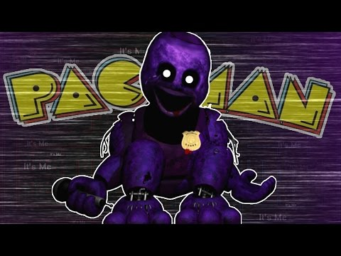 PURPLE MAN SECRET MODE UNLOCKED?! | Five Nights At Freddy's PACMAN 2