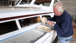 How to wax non skid boat decks for Boat non slip deck paint