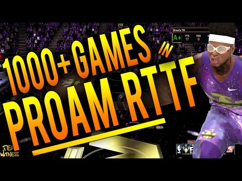 NBA 2K16 ProAm Tips: How To Get 1000+ Points Per Game - Score 1000+ Points in Road To The Finals!