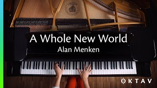 A Whole New World (Aladdin) by Alan Menken | Piano Cover