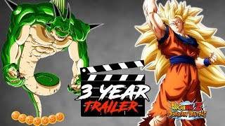 OFFICIAL GLOBAL 3 YEAR ANNIVERSARY TRAILER!! LETS WATCH IT TOGETHER | DRAGON BALL Z DOKKAN BATTLE