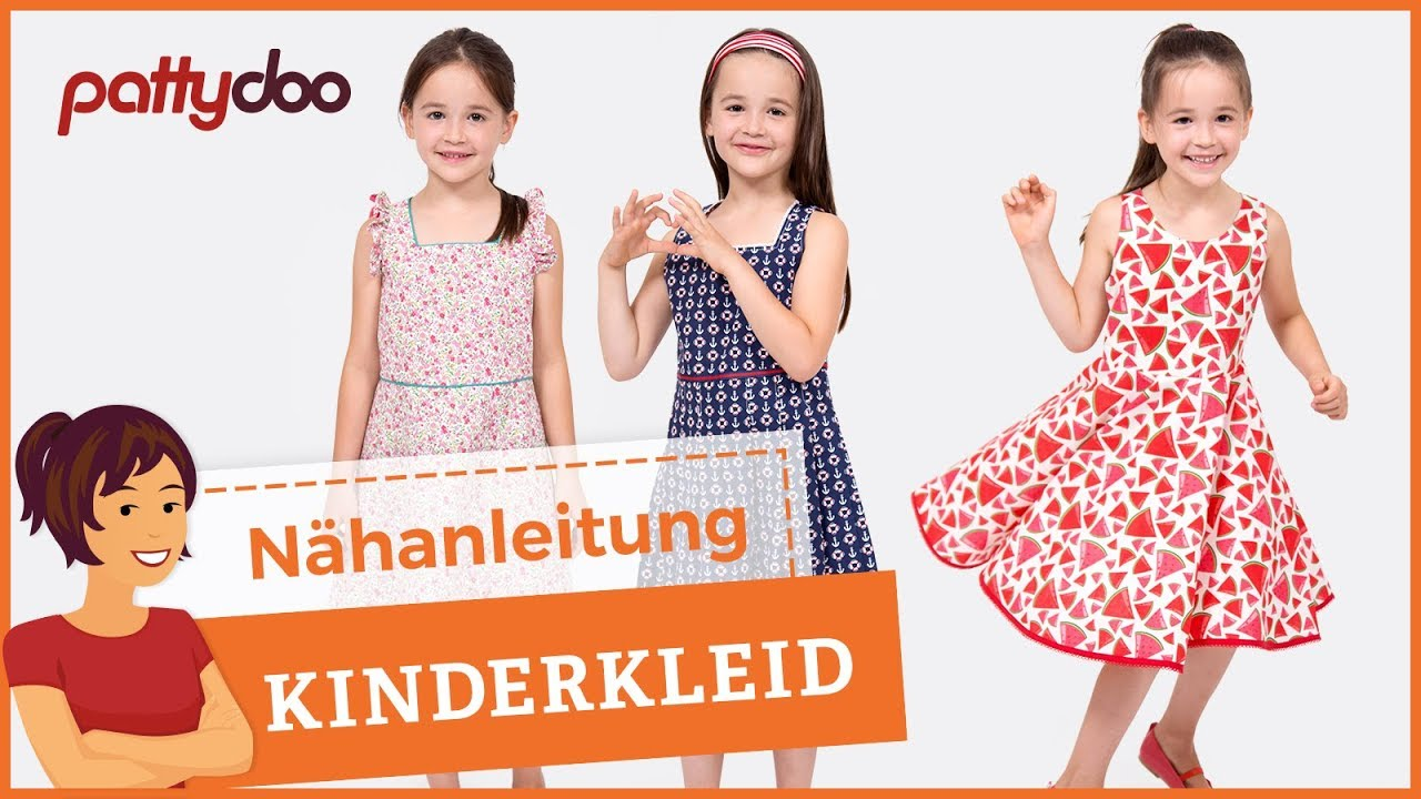 Kostenlos 104 kleid schnittmuster kinder Kleid /
