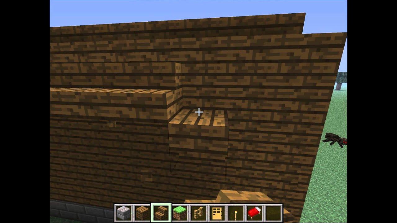 Minecraft come fare una casa antica in legno e pietra youtube - Fare una casa in legno ...