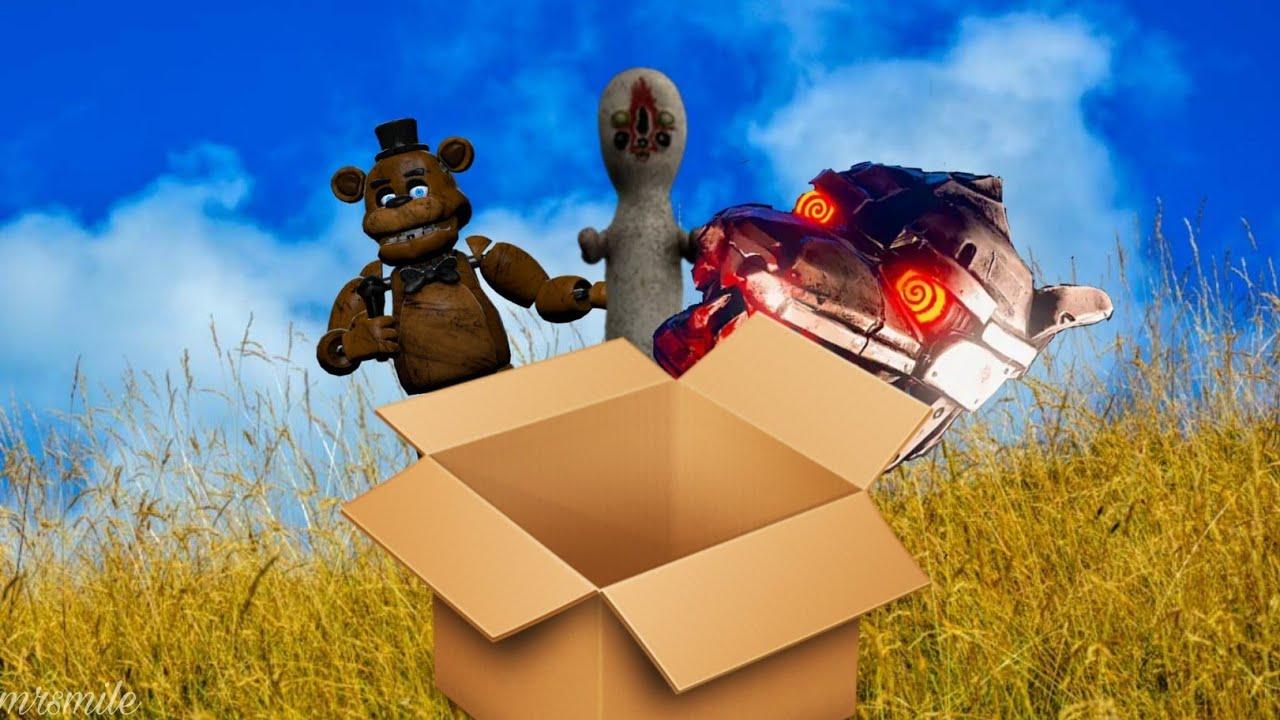 Коробочка с сюрпризом (кейс аниматроникс 3 серия, scp ...