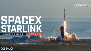 Watch SpaceX Launch 60 More Starlink Satellites!!