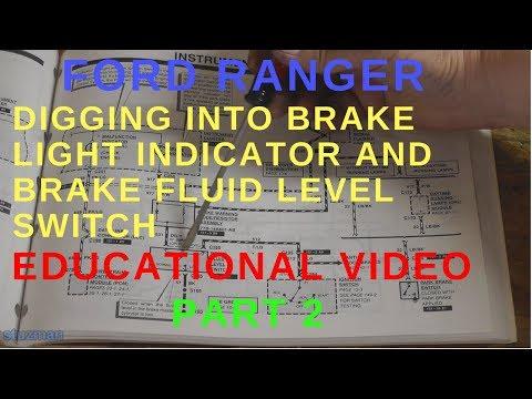 Brake Light Indicator and Brake Fluid Level Switch Part 2