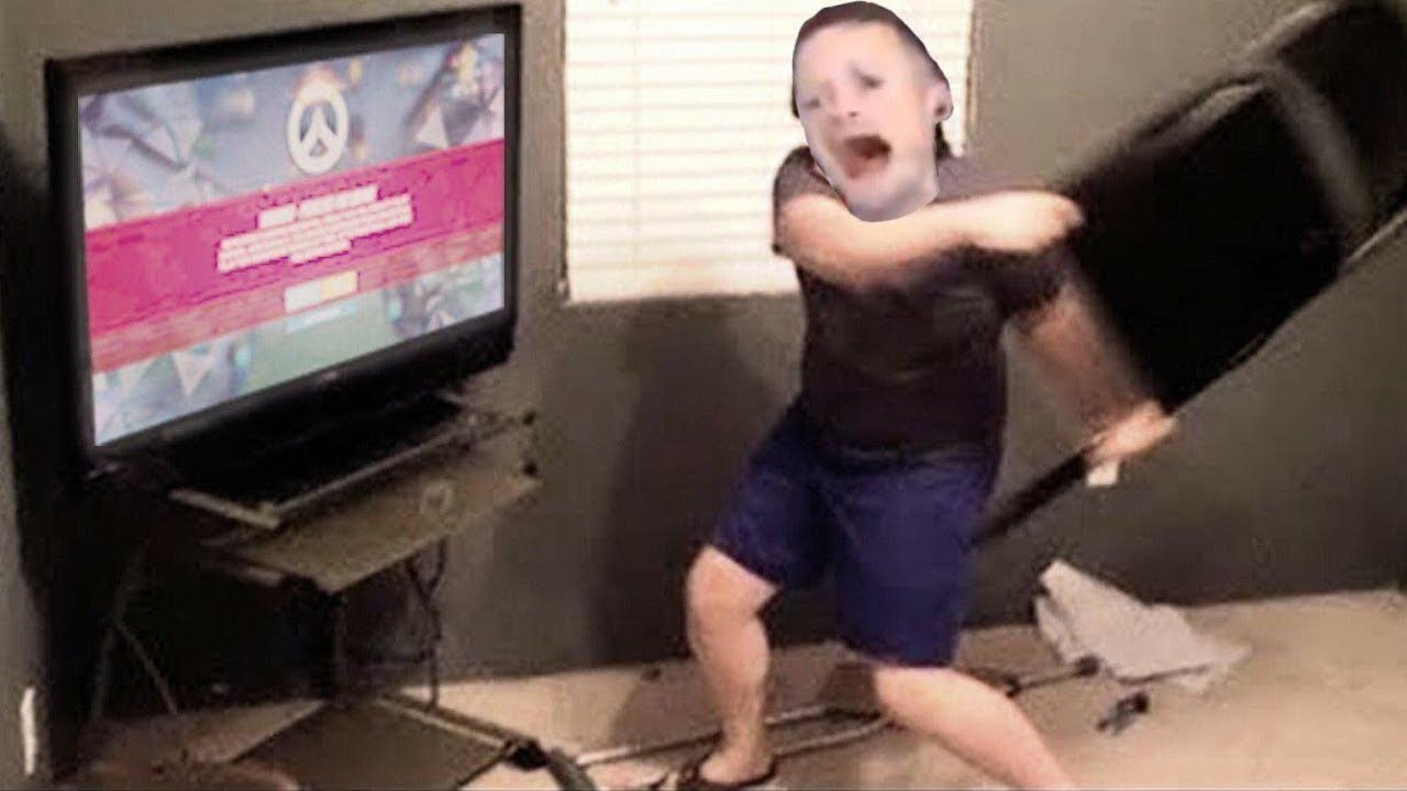 Video Game Rage Compilation