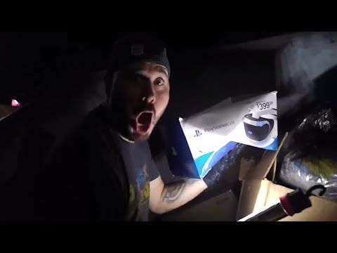 DUMPSTER DIVING NIGHT #4 Gamestop & Verizon