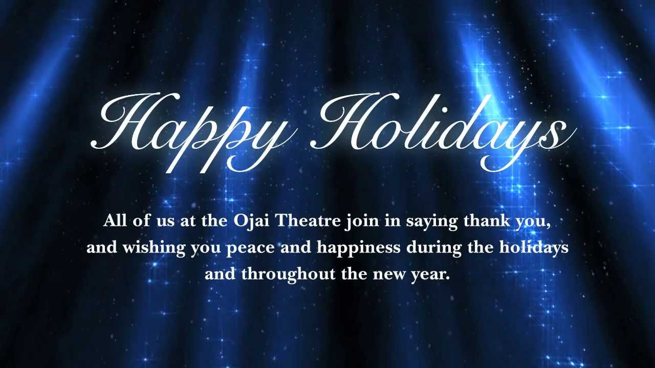dogs fly design ojai theatre holiday greeting