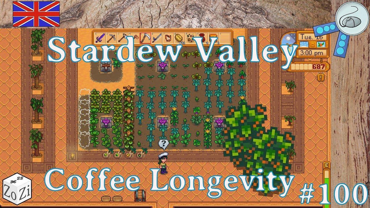 Stardew Valley 100 Coffee Longevity