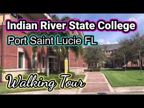 ???? Indian River State College, Port Saint Lucie FL Walking Tour